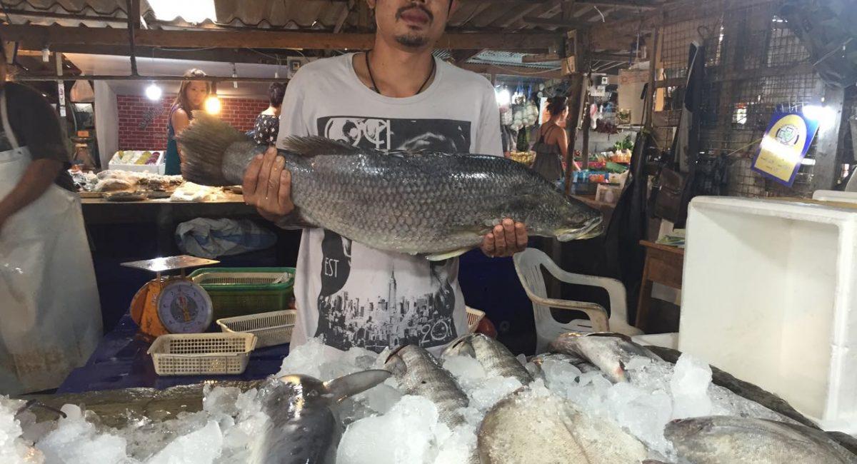 Рынок. Вкусный ужин на SamuiArtVilla